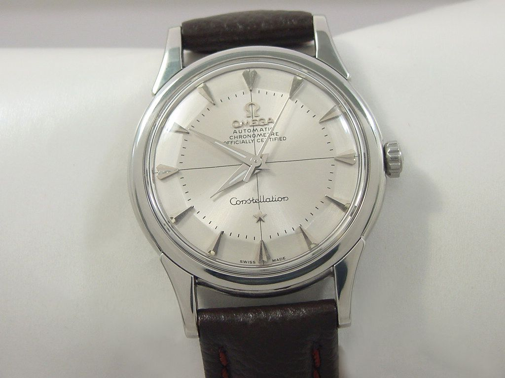 1959 OMEGA CONSTELLATION CHRONOMETER WITH PIE PAN DIAL