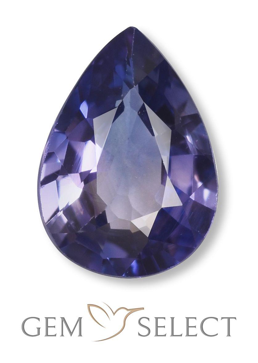 0 98 Ct Blue Sapphire Blue Gems Stones And Crystals Sapphire Gemstone