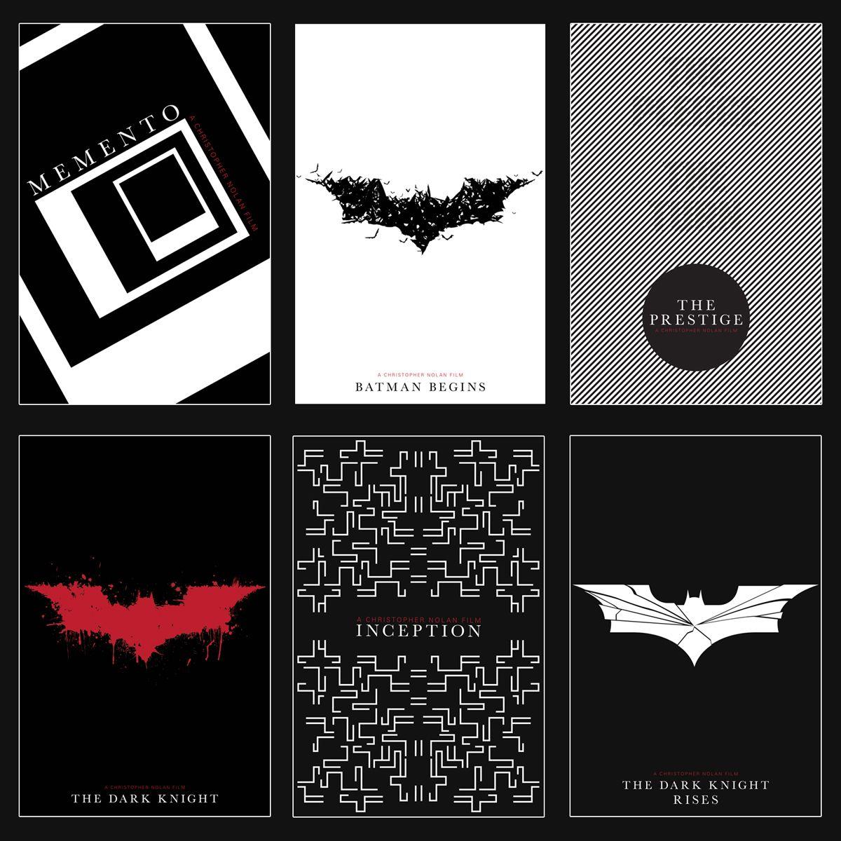 Poster design deviantart - Christopher Nolan Movie Poster Set By Beatific Design Deviantart Com On Deviantart