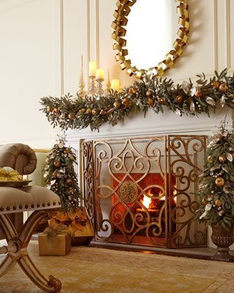 Beautiful Fireplaces with Lovely Screens - Hadley Court - Design ...