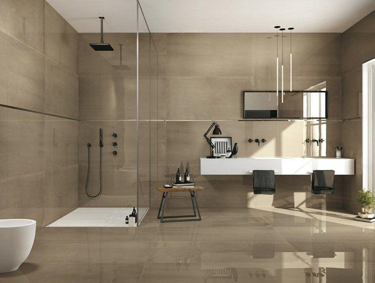 Id e carrelage salle de bain d 39 inspiration design - Idee salle de bain carrelage ...