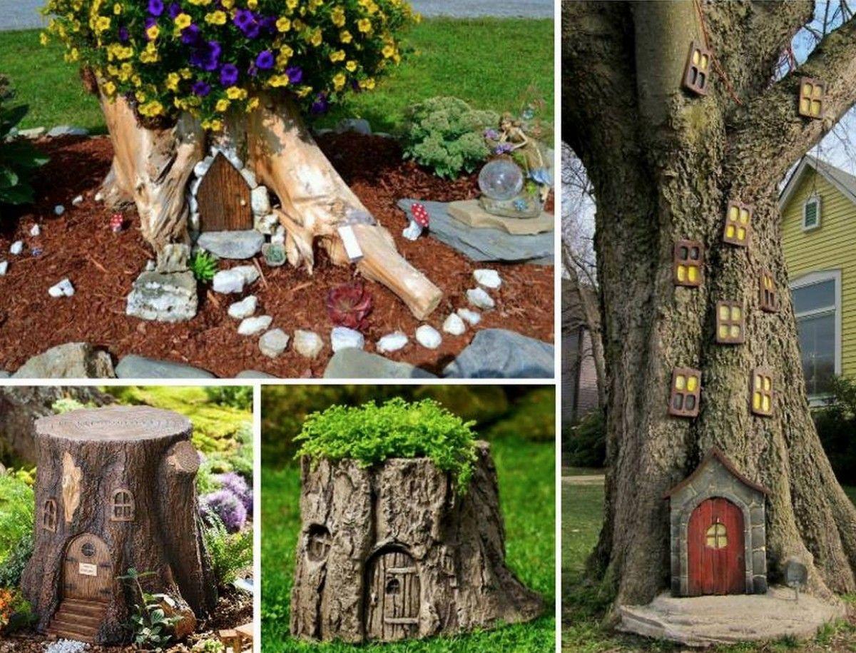Fairy Garden Ideas The Cutest Collection | Gardens, Trees and ...