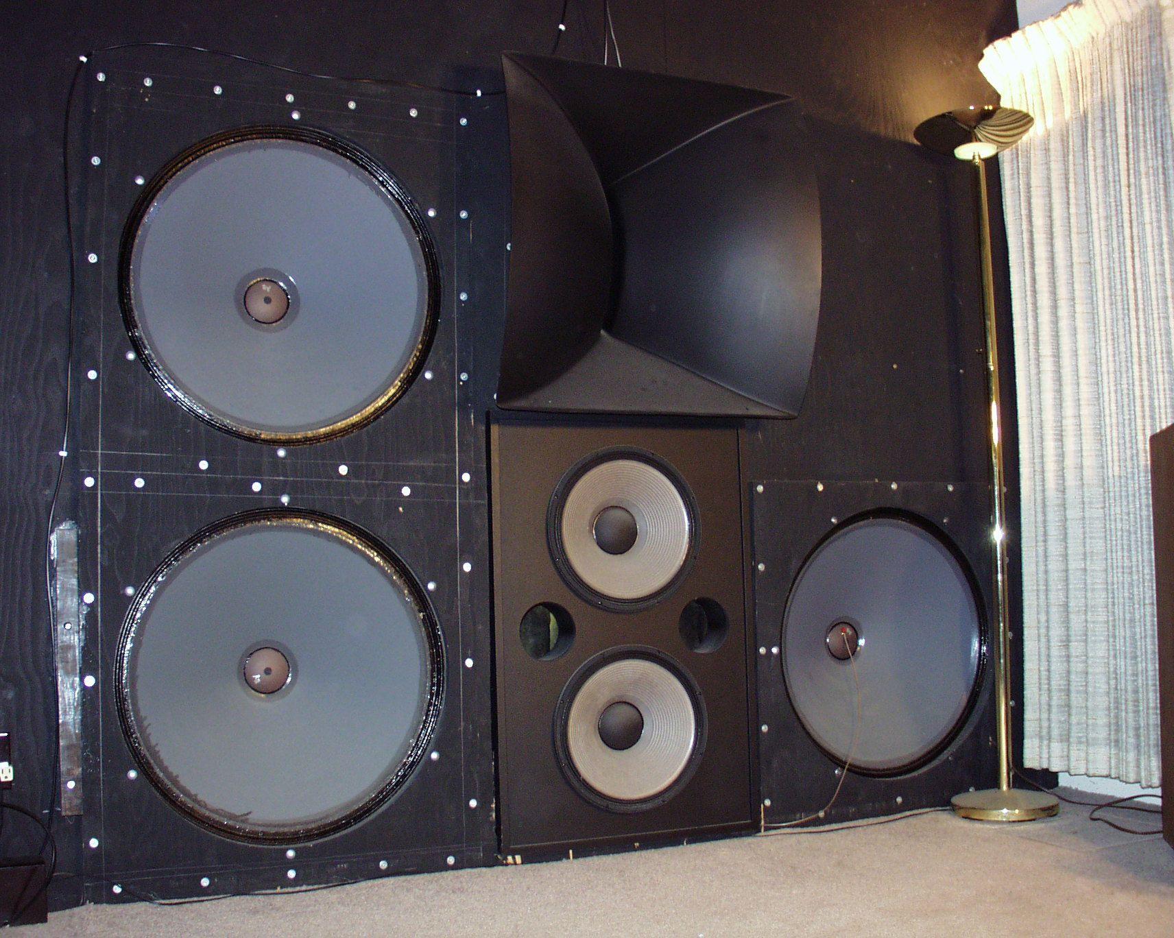 Big cabs club hifi audio audio woofer speaker