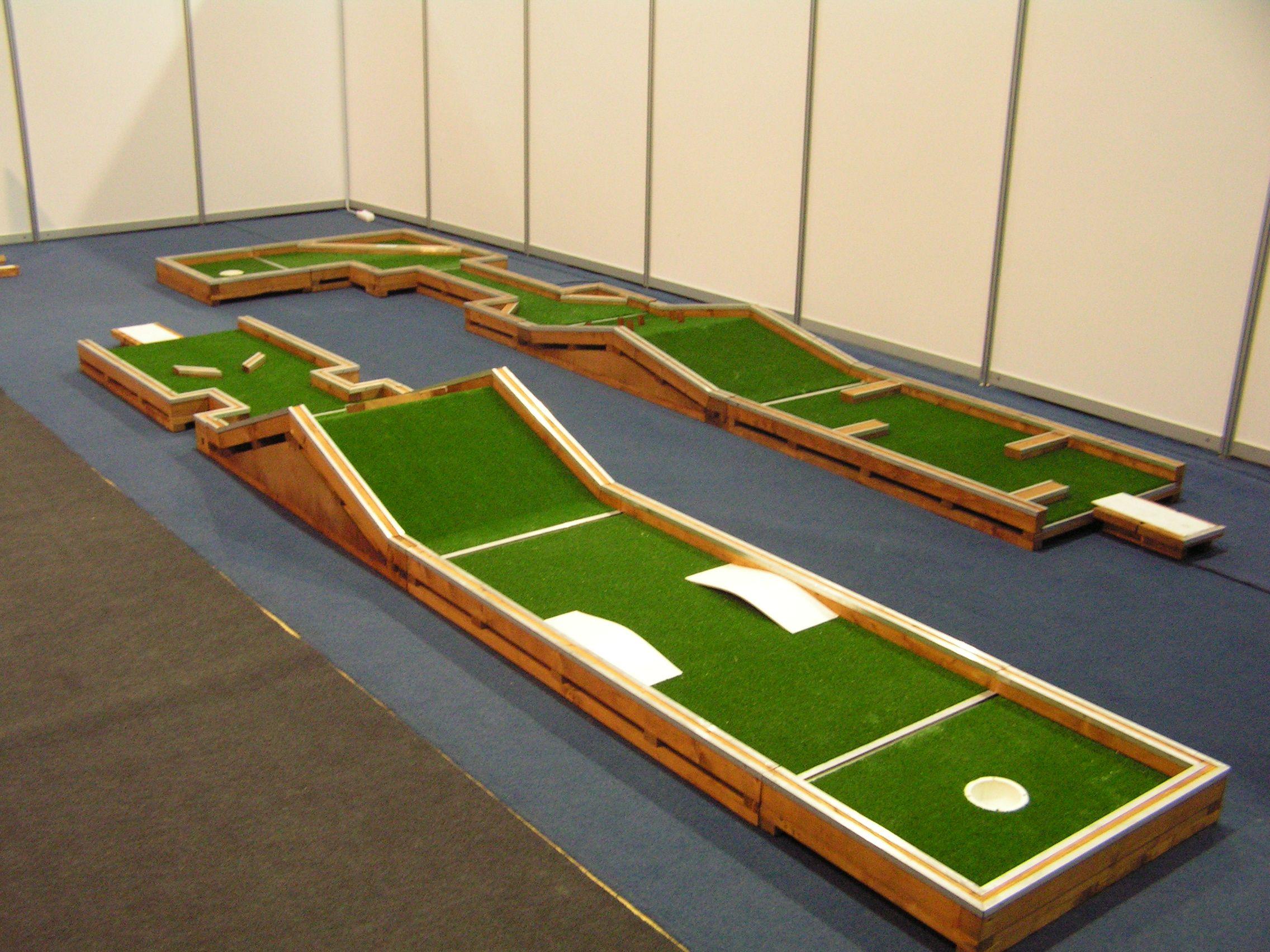 Golf in exibition   Interchangeable minigolf   Pinterest   Golf ...