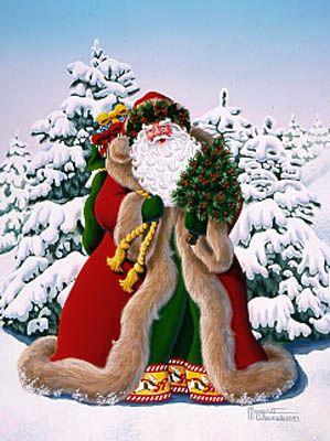 """Russel Cobane """"Merry Santa"""""""