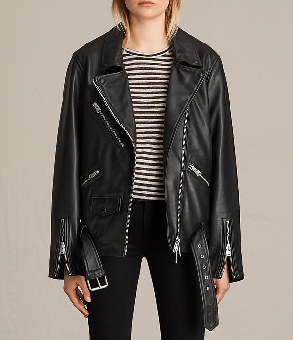 Some Great Types Of Leather Jacket Leather Jacket Allsaints Us Womens Vintage Leather Balfern Jacket Leather Jackets Women All Saints Leather Jacket Clothes