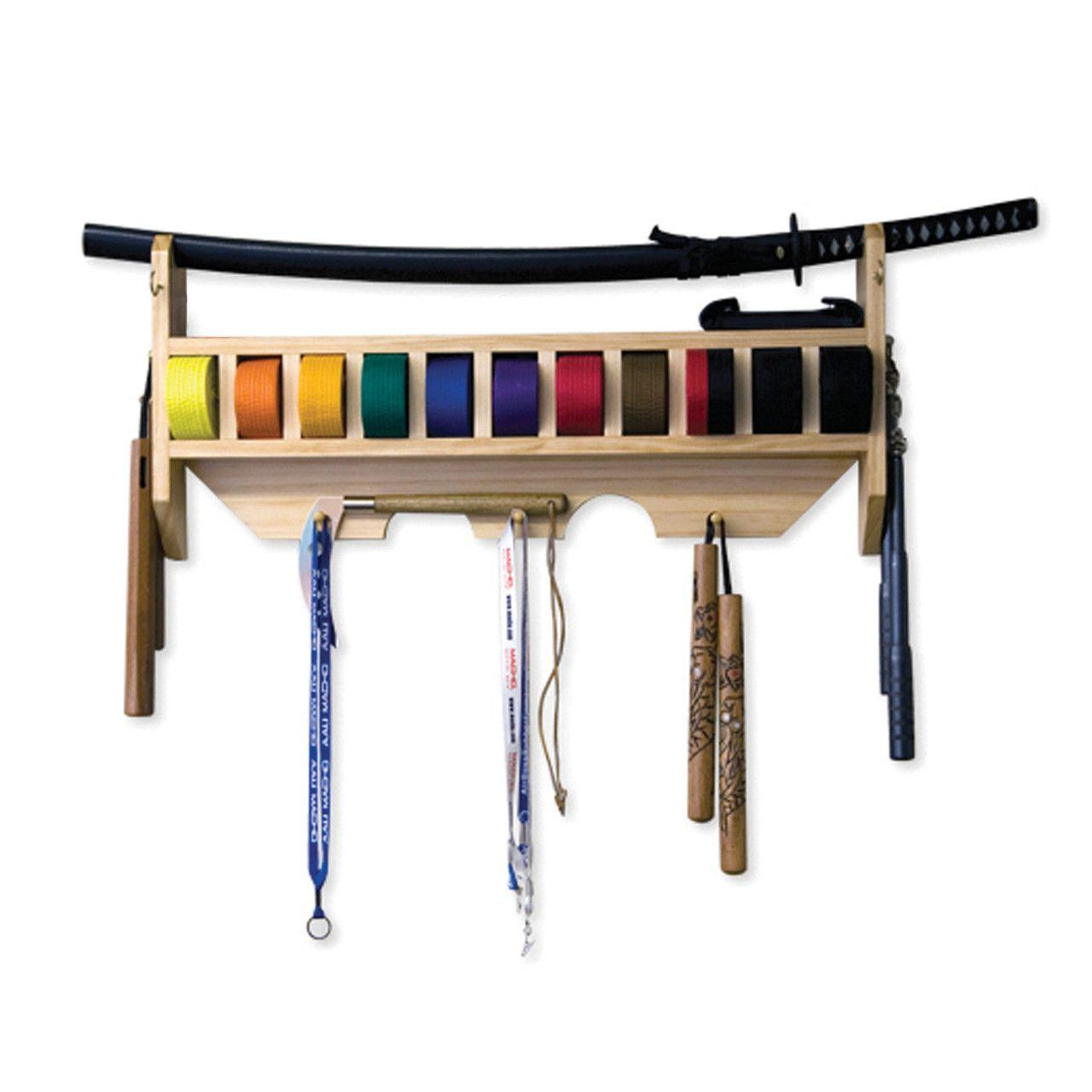 Karate belt display ideas - Victory Belt Display