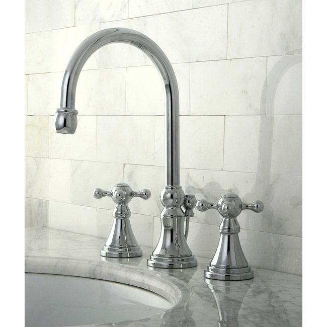 Wash your hands in elegant style with this chrome widespread ...