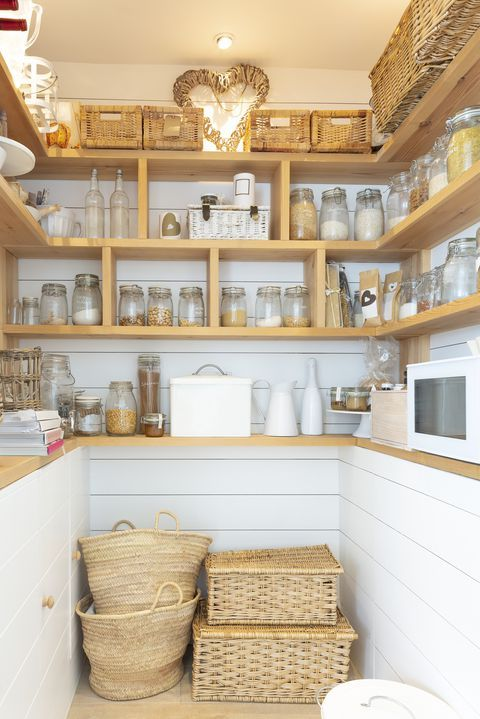 20 clever ways to maximize your pantry space pantry design kitchen organization big kitchen on kitchen organization no pantry id=58372