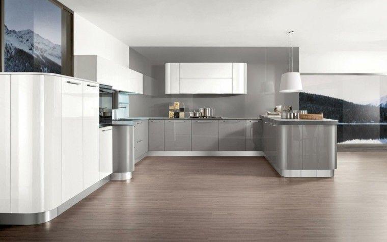 Decoración de interiores cocinas modernas con estilo   Cocina ...