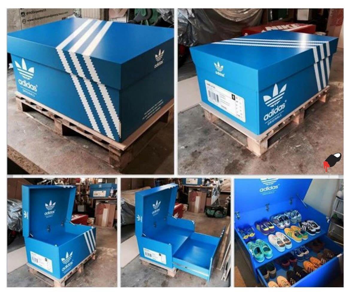caja de zapatos adidas
