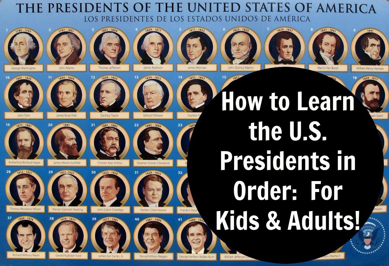 List Of Uspresidents Including Family Genealogy