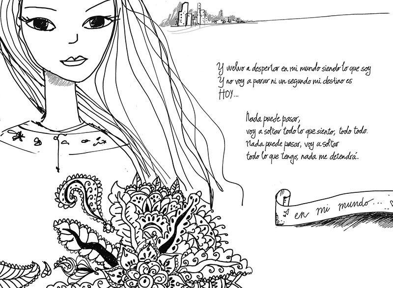 Desenhos De Beatriz Pereira Coutinho Em Violetta E Leonetta