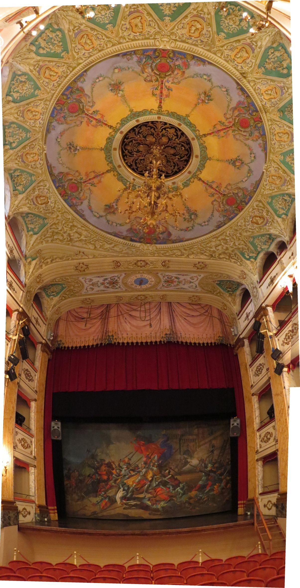 Treia, Marche, Italy - Teatro Comunale (1800)- Photo by Gianni Del Bufalo bygdb Attribution-ShareAlike 2.0 (CC BY-SA 2.0)