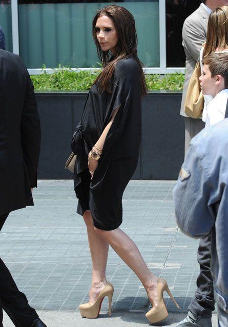 Victoria Beckham maternity style   マタニティ