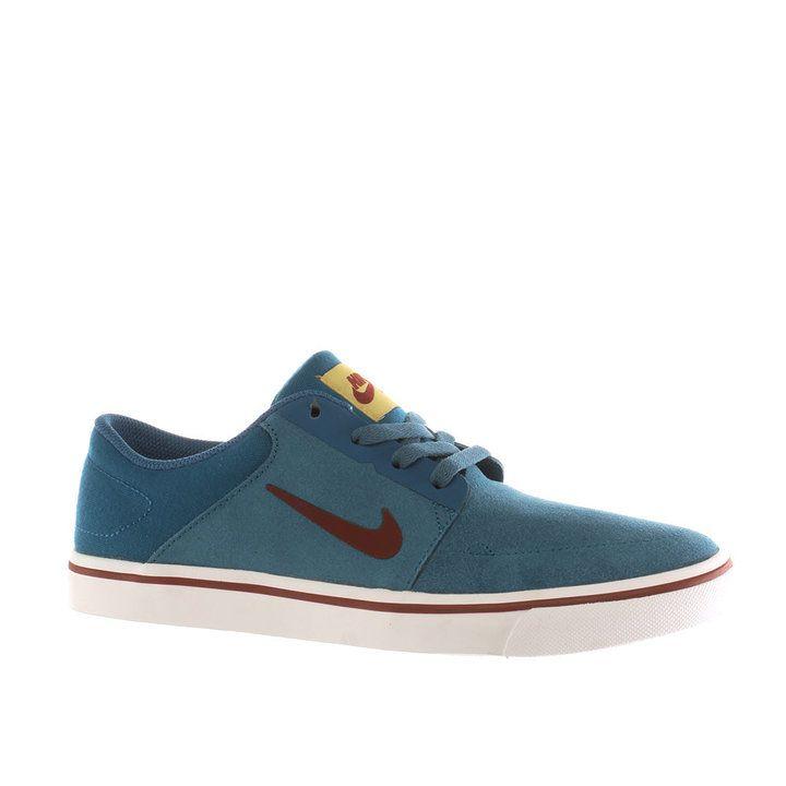 Womens Blue Nike Sb Portmore Trainers | schuh