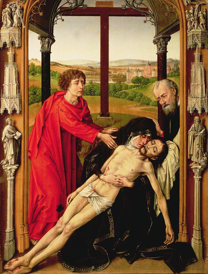 The Lamentation Of Christ by Rogier van der weyden