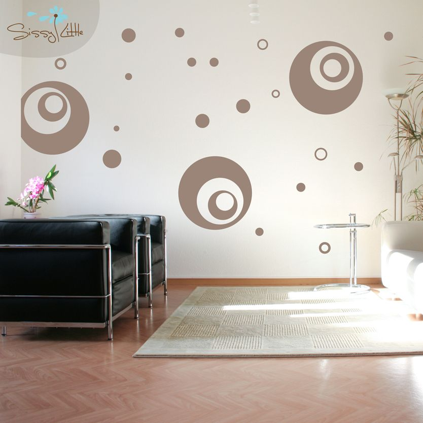 Looking for something abstract, but still well-rounded? These Supersized Circles will help give your space a unique and playful look!