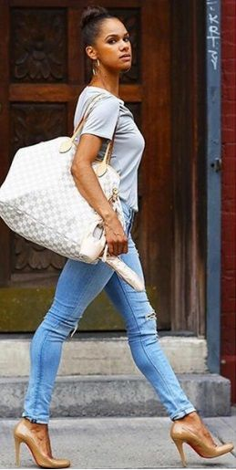 Misty Copeland and her Gucci Tote