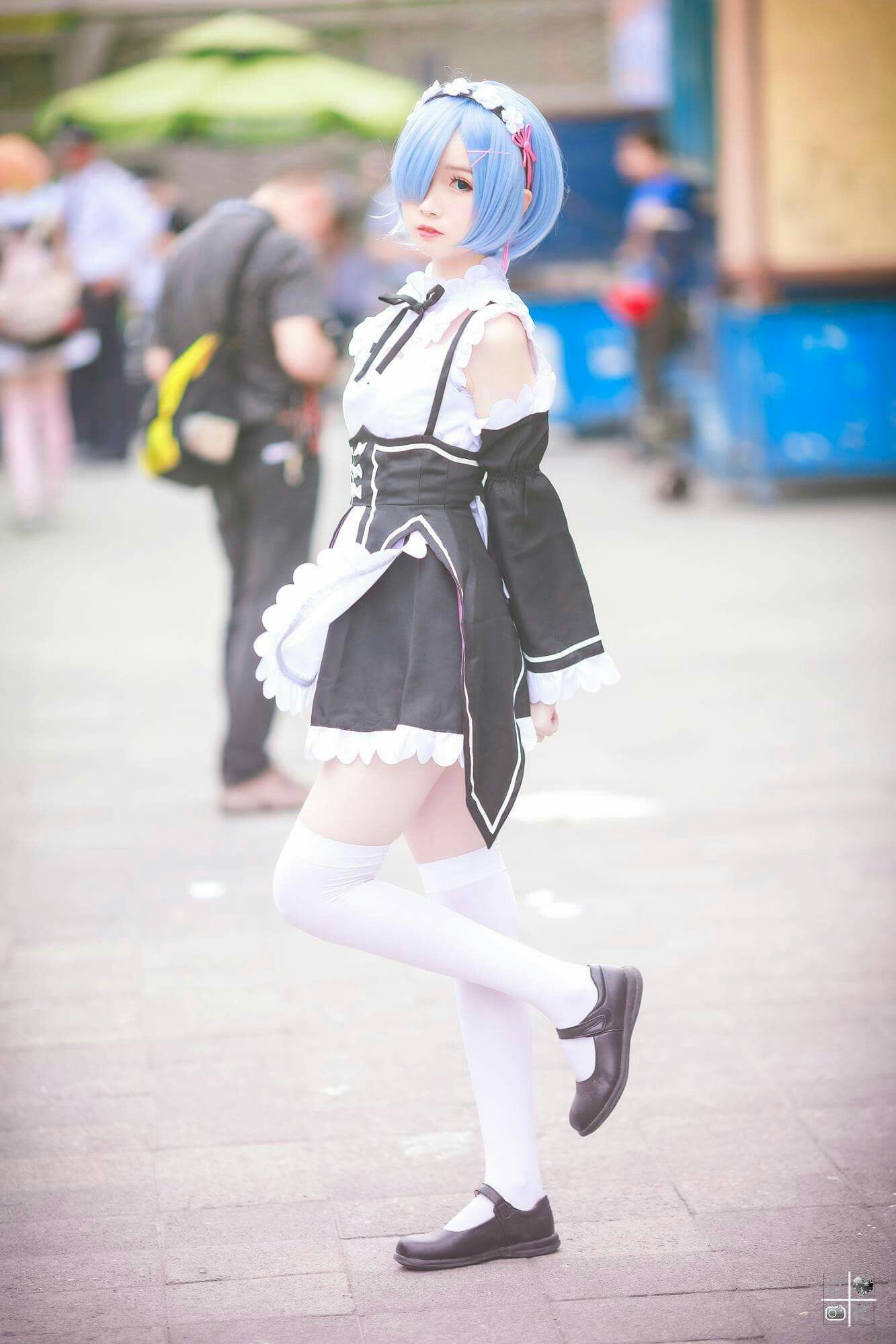 re zero rem cosplay cute maid | Cosplay World | Pinterest ...