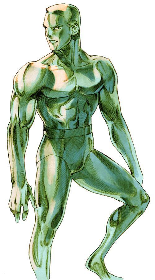 Iceman (for Marvel Vs. Capcom 2). Art by Bengus.