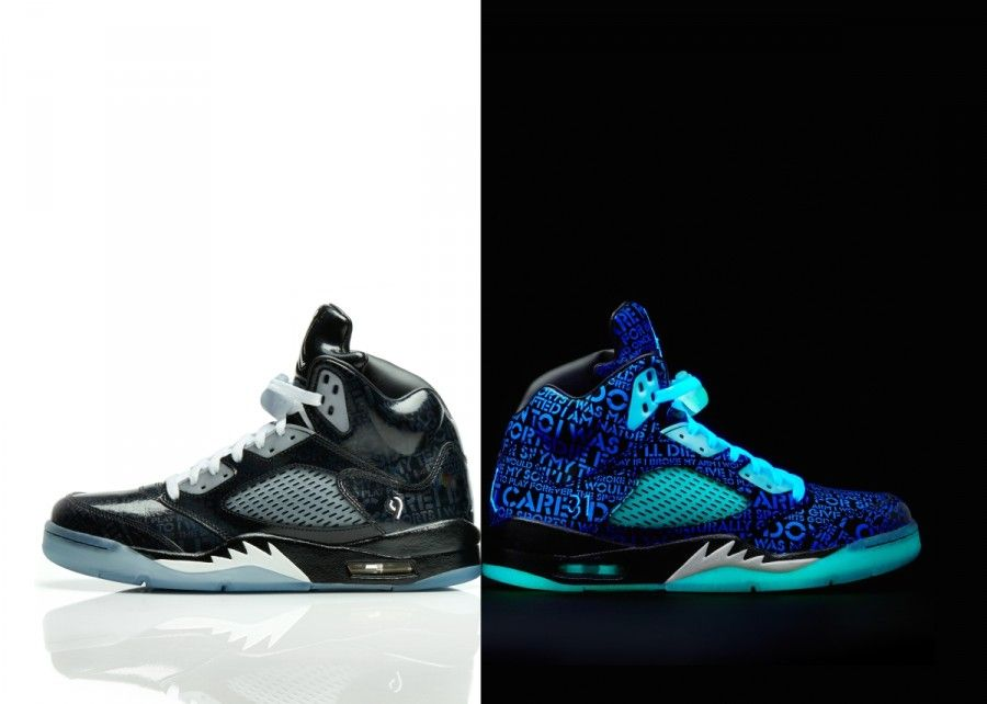 Every year Jordan Brand goes to Doernbecher Hospital and select kids to  design a shoe. The earning from sales goes back to the hospital. 13201f4e13ea
