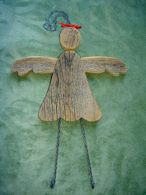 Angels Wooden Angels Christmas Angels Baby Angels by CooClaw, $20.00