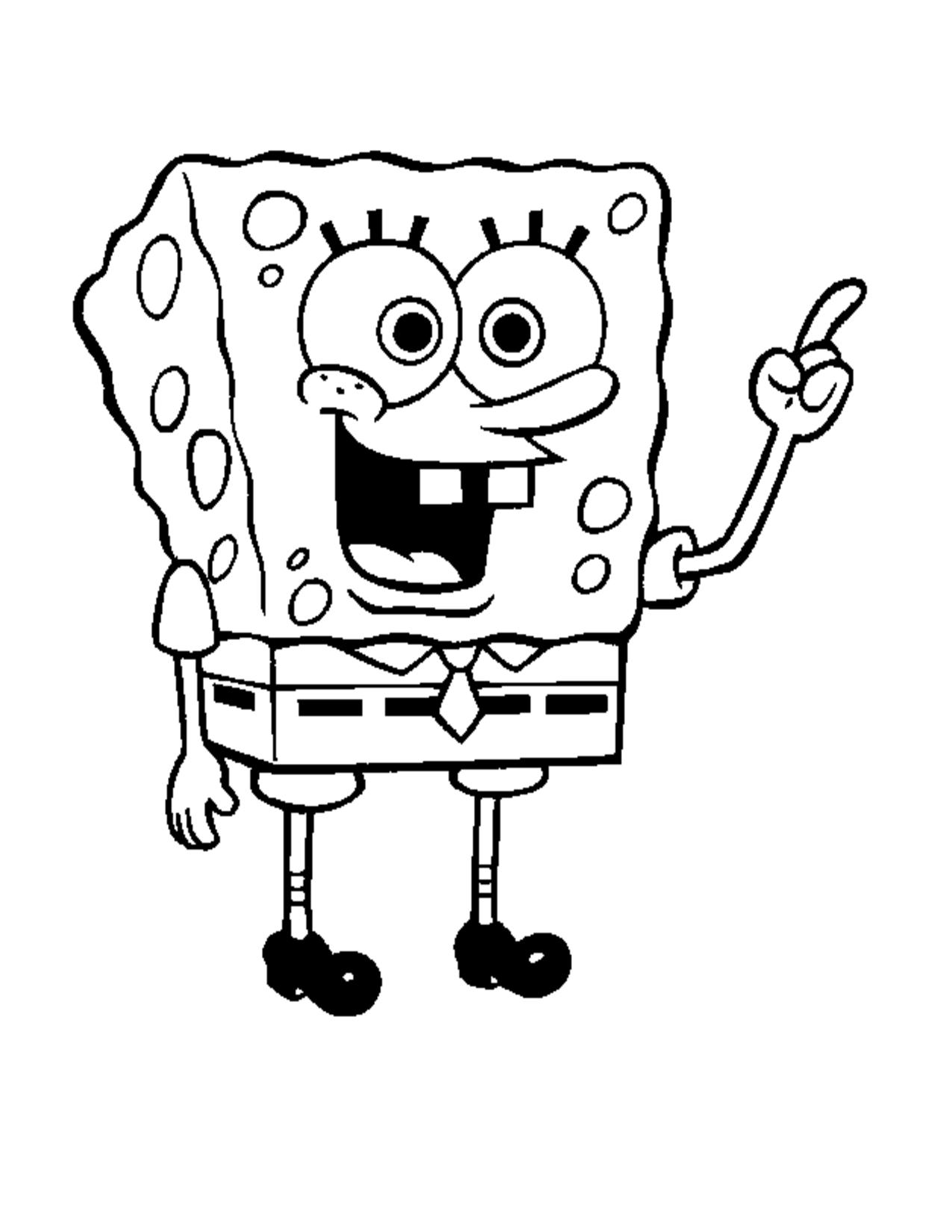 Spongebob-coloring-sheets | 17th-18th CENTURY FASHION | Pinterest ...