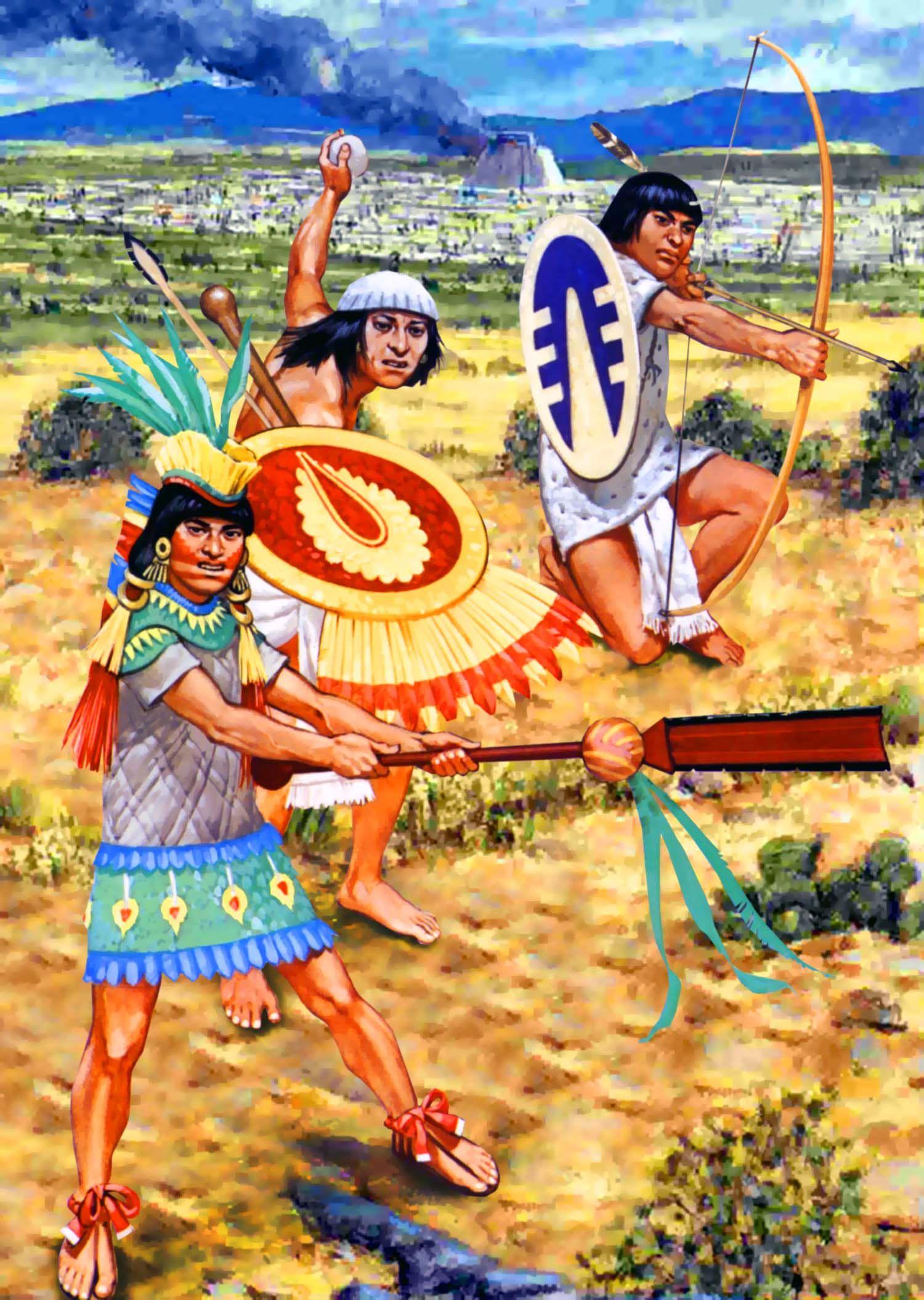 Aztec Archer Aztec Warrior Historical Warriors Old Warrior