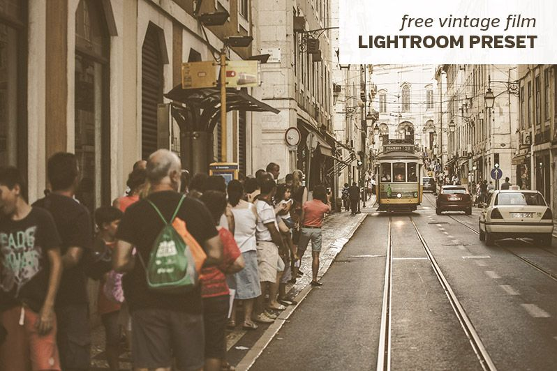 Free Vintage Film Lightroom Preset Photographypla Net Fotografi