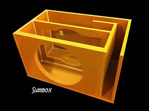 15 Inch Sub Box Plans 15 Orion Hcca Subwoofer Enclosure Speaker Box Single Ported Sub Box Subwoofer Enclosure Subwoofer Box 15 Subwoofer Box