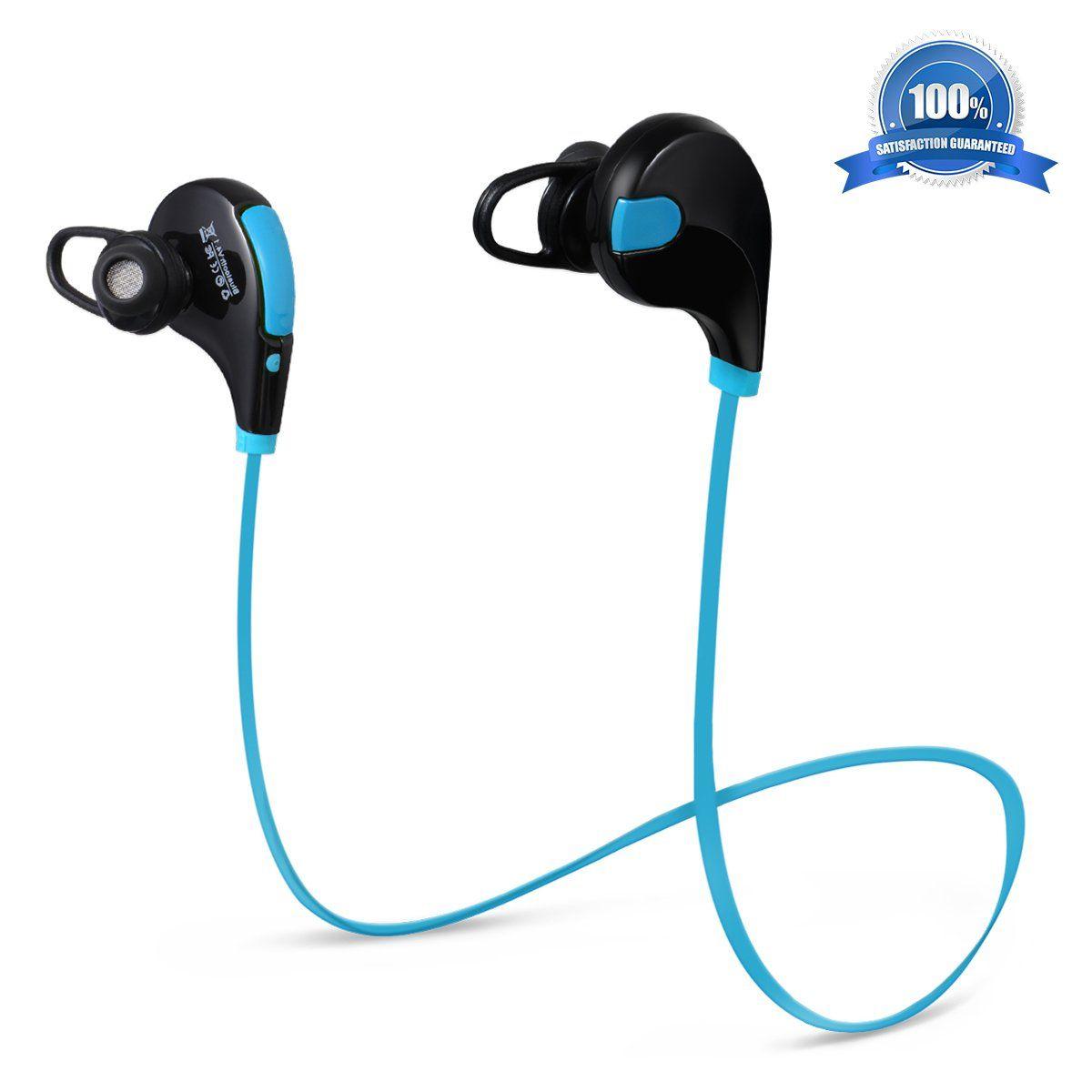 Atill Bluetooth Headphones, InEar Sweatproof Running