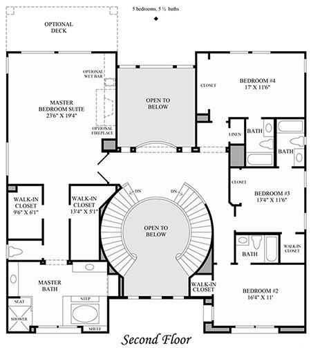 Double Staircase Foyer House Plans Google Search Neu Pinterest