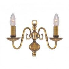 Four Poster Bed Wall Sconce