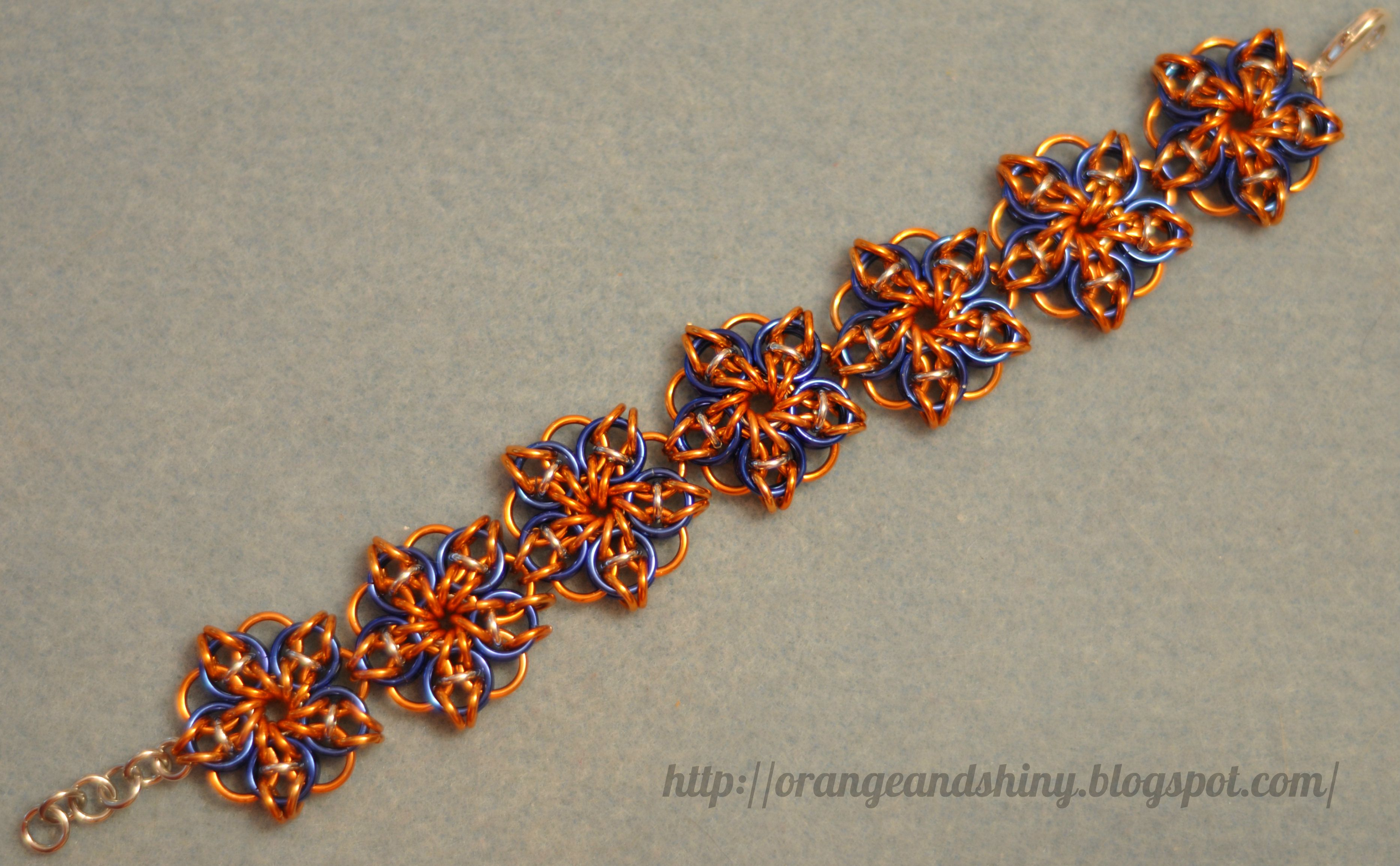 Patchwork chainmaille bracelet gothic jewelry pinterest