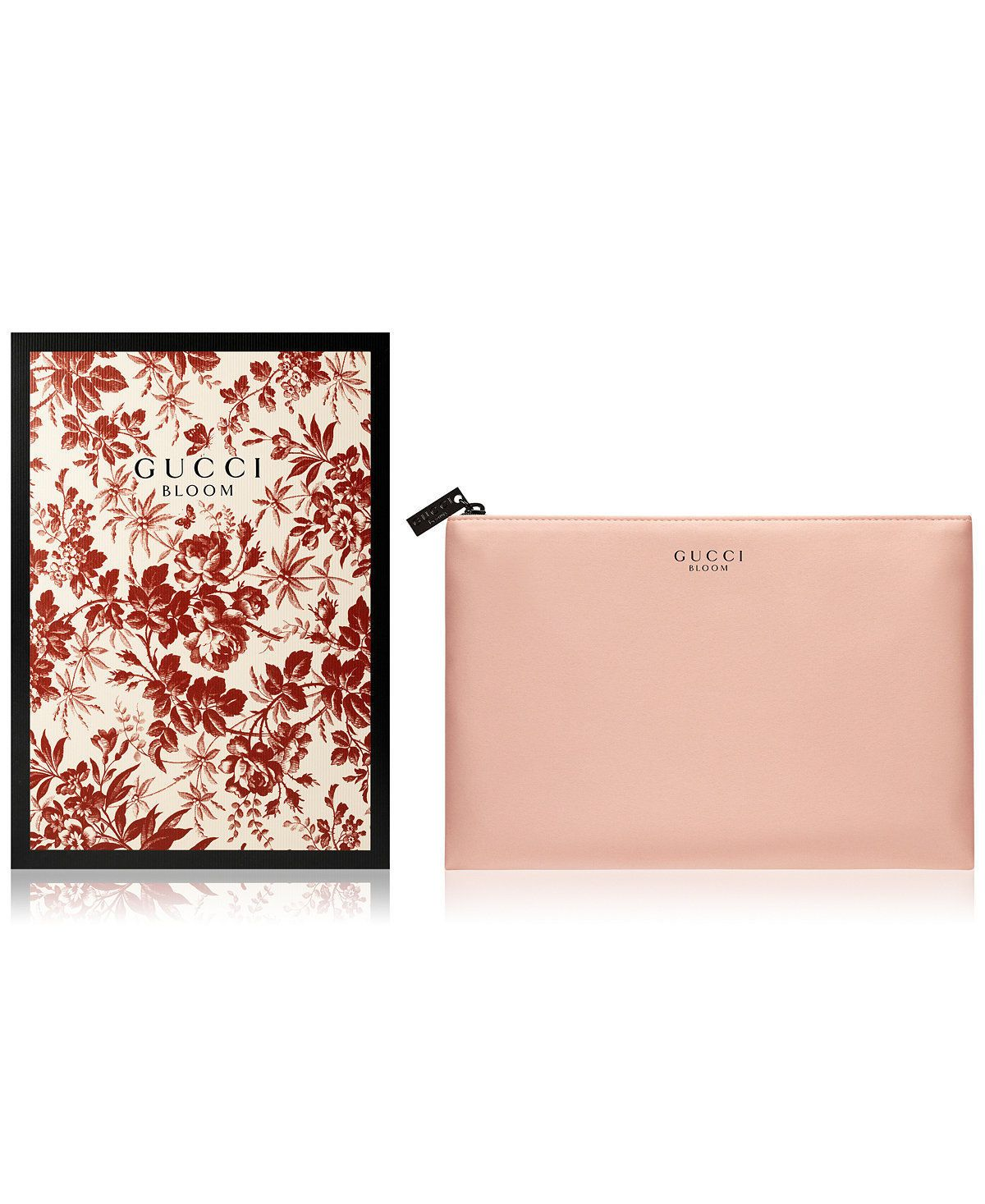 654d9c3b12b Gucci Bloom Pouch Cosmetic Hand Bag Makeup Case Clutch blush pink nude in  BOX