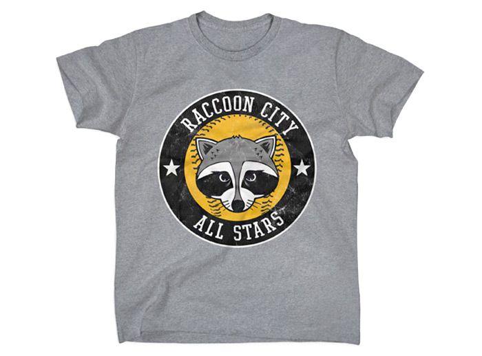 T Shirt Raccoon City All Stars Resident Evil