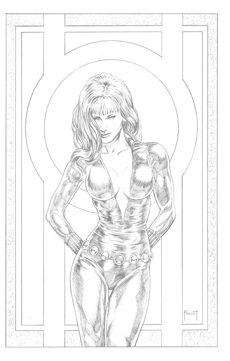 Black Widow by Mitch Foust | Omalovánky ;) | Pinterest | Dibujo
