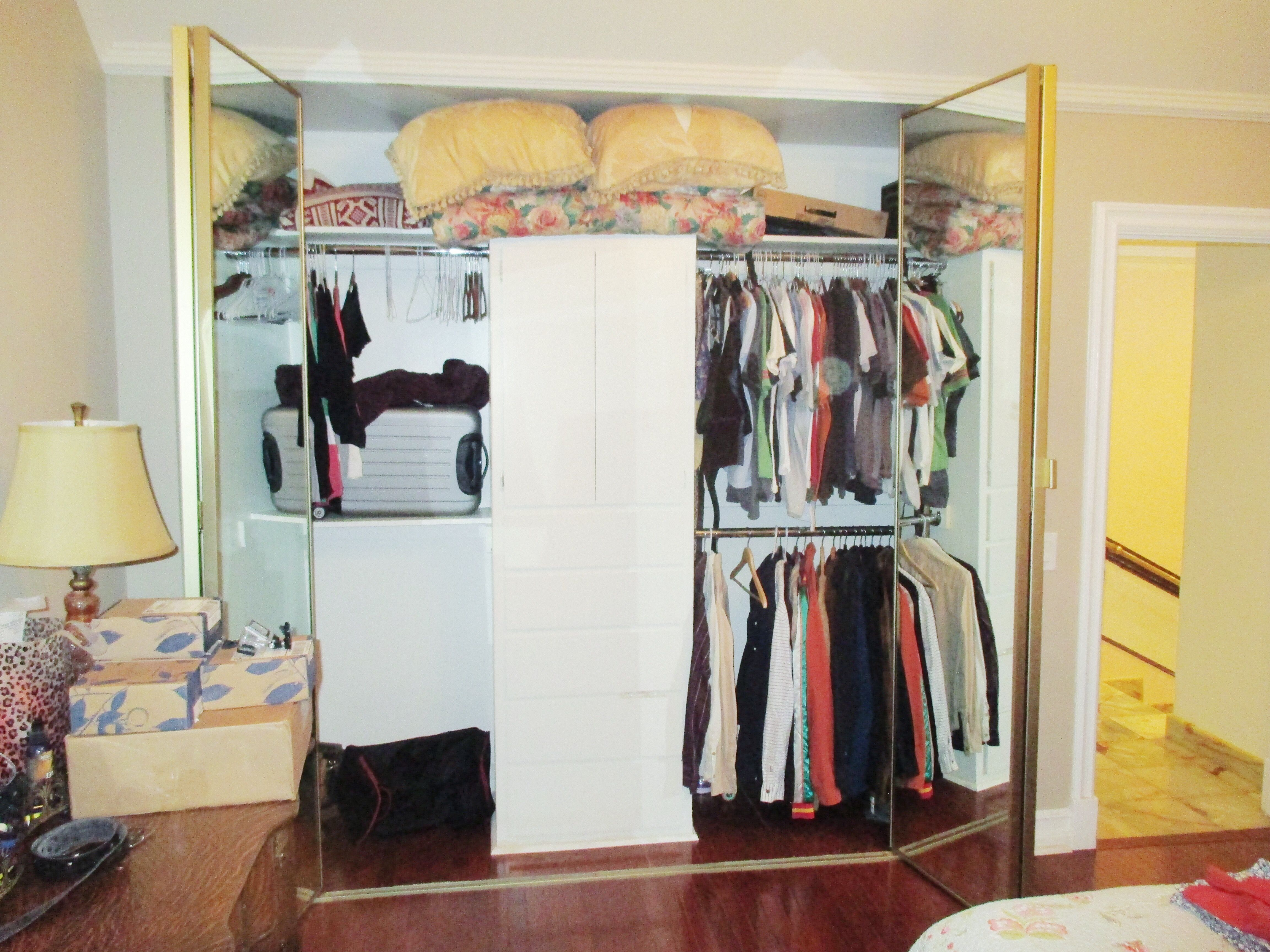 Check out these gold trimline contractors wardrobe bifold