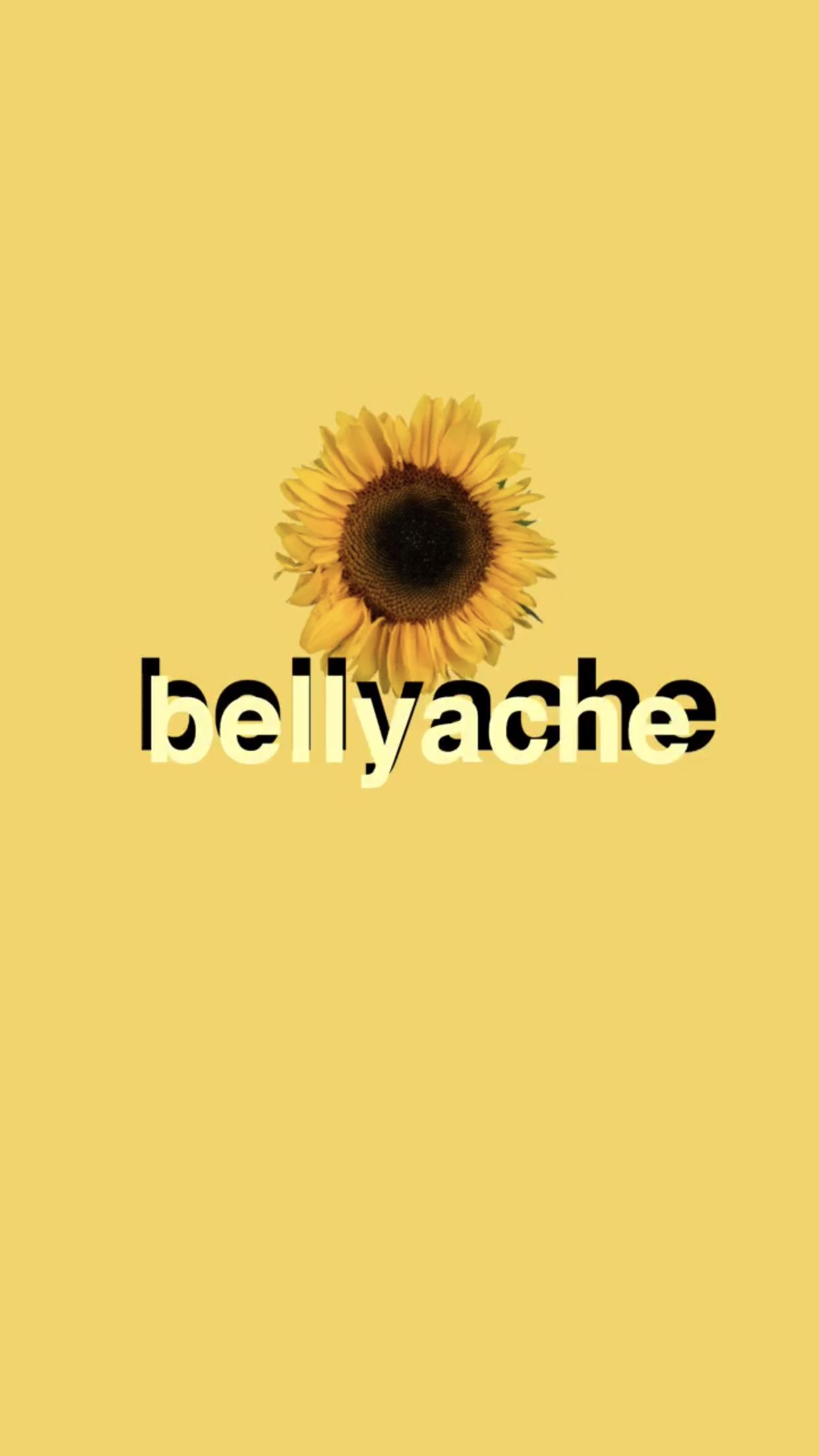 Bellyache Yellow Wallpaper Aesthetic Wallpapers Yellow Wallpaper Billie Eilish