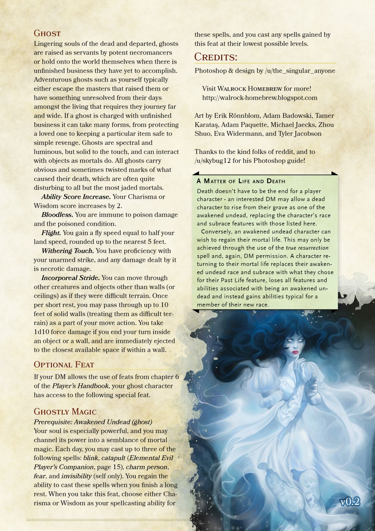 Dnd 5e Homebrew, Dungeons And Dragons Homebrew