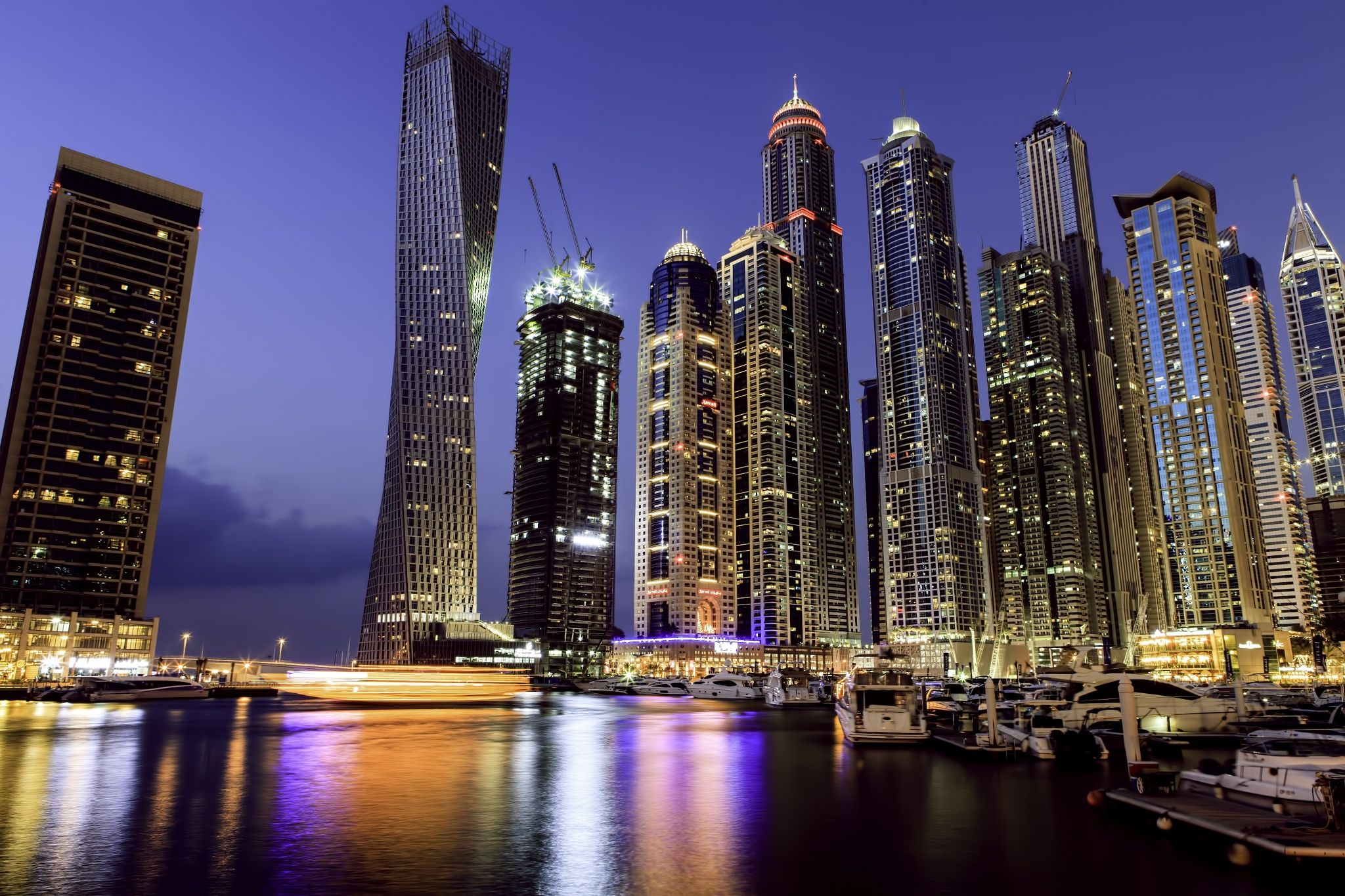 Cayan Twist Tower Dubai by Mubarak Fahad on 500px | Photos | Pinterest