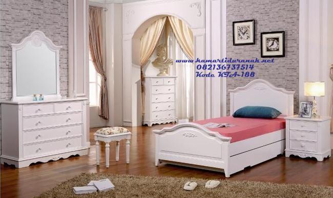 desain set kamar tidur anak cewek klasik modern ramona