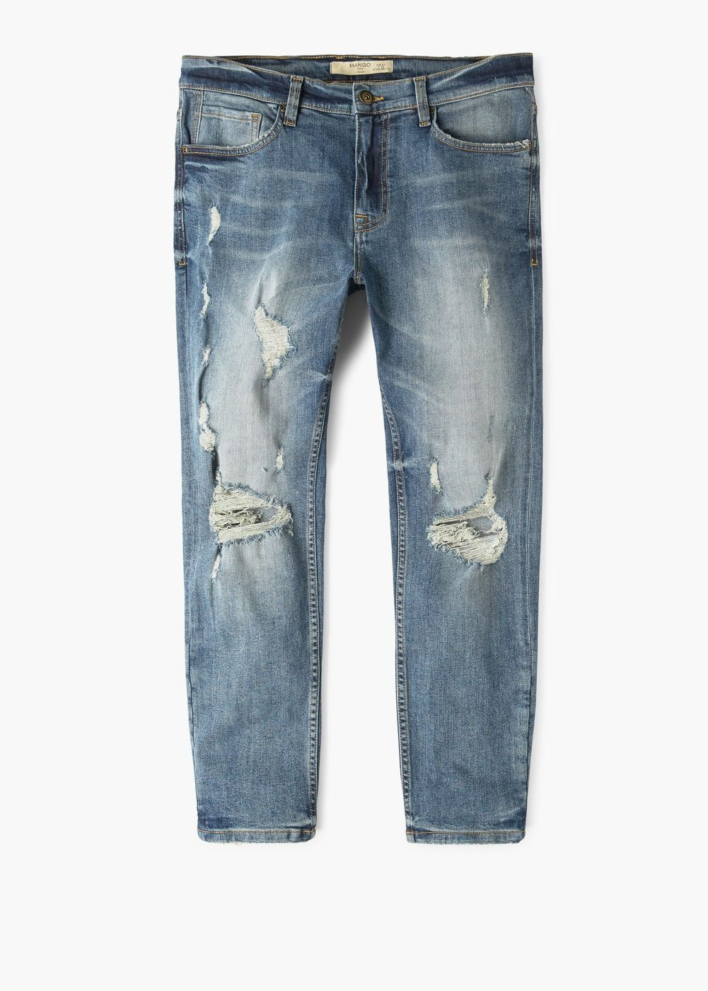616b648bb4 Slim-fit cropped greg jeans - Man