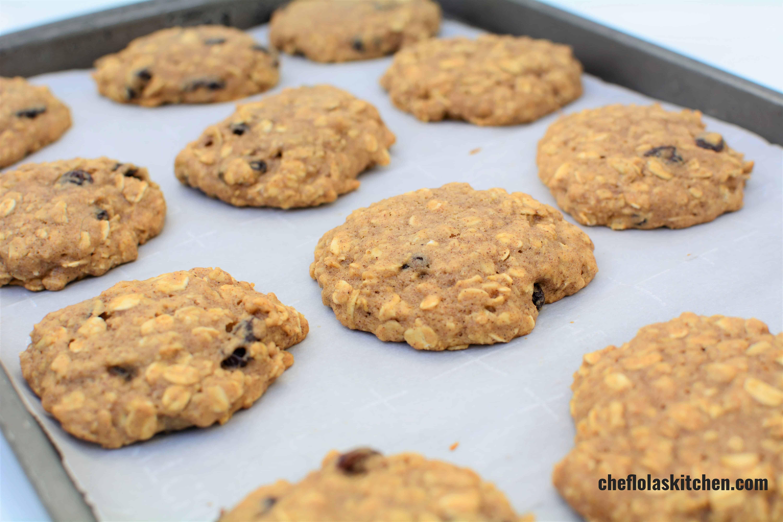 The Best Vegan Oatmeal Cookies Recipe Simply Whisked Recipe Vegan Oatmeal Cookies Oatmeal Raisin Cookies Chewy Oatmeal Cookies