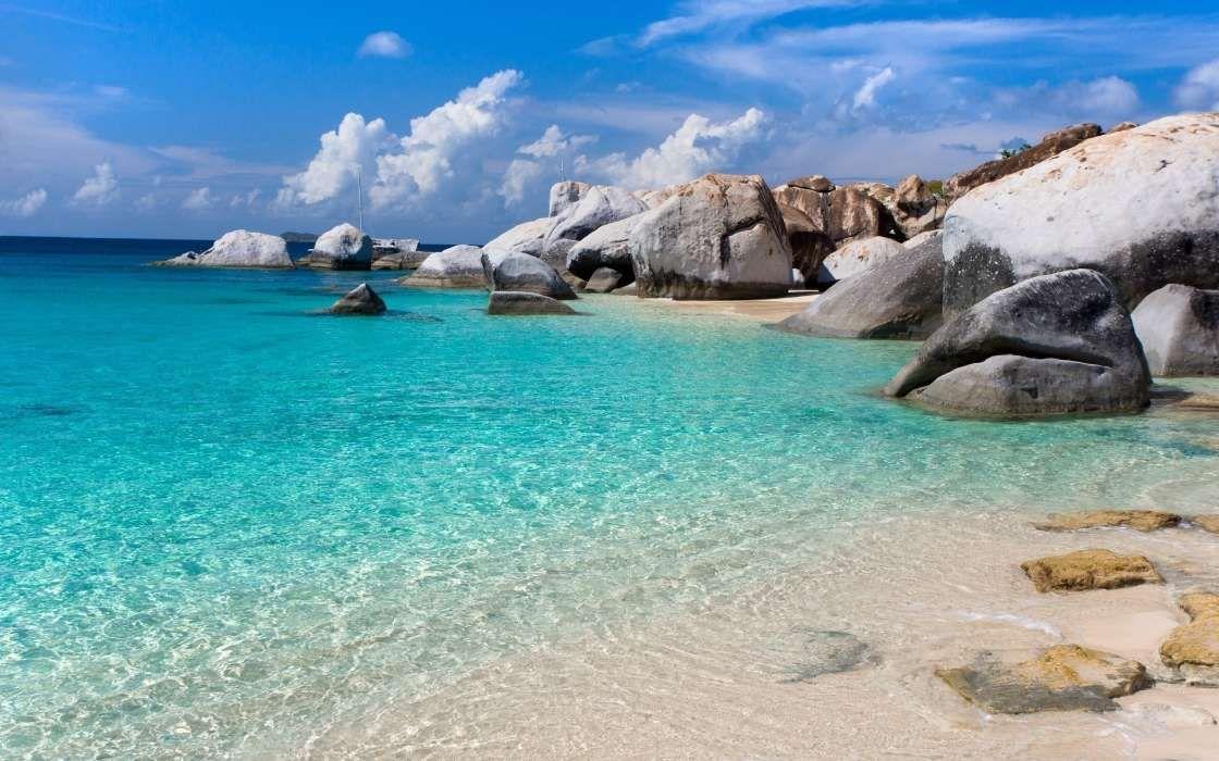 Descargar Fondos De Pantalla Gratis: Descargar Fondo De Pantalla Gratis Paisaje, Mar, Playa