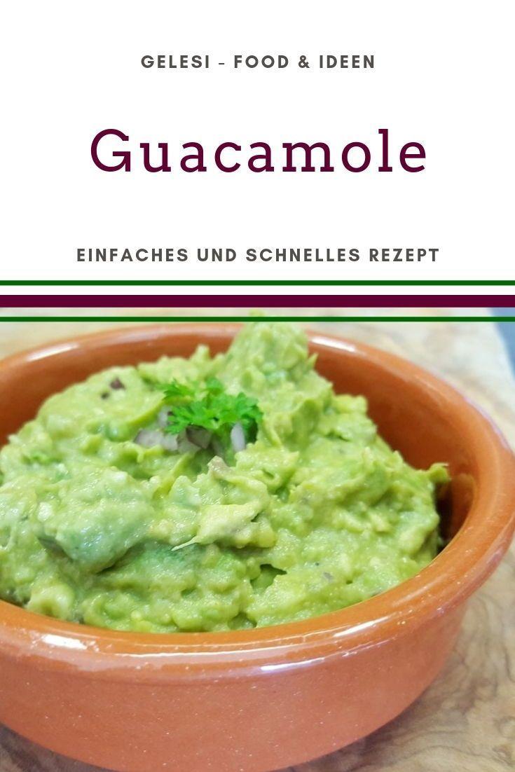 Guacamole selber machen - ganz einfach mit diesem Rezept