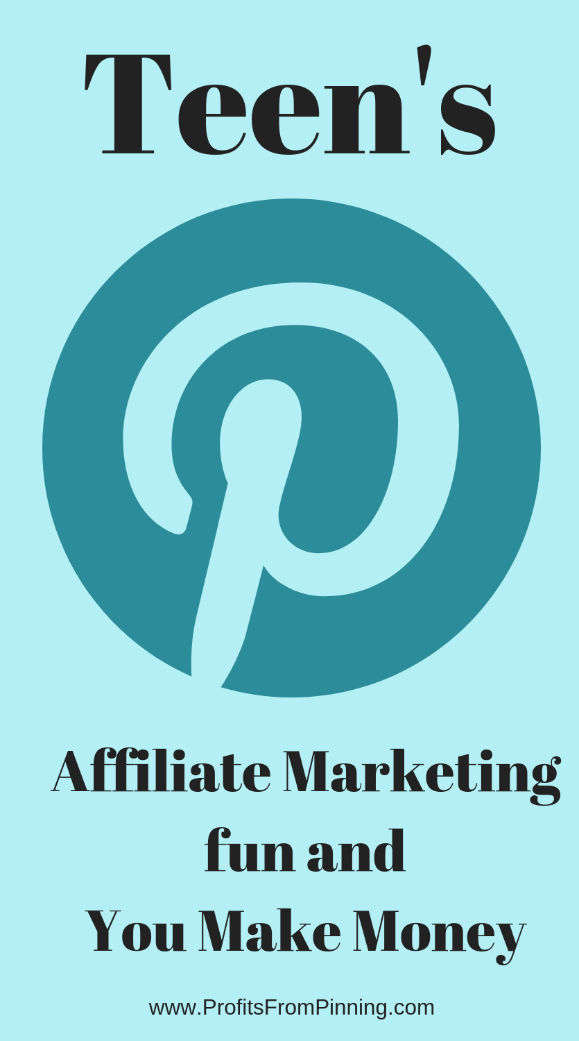 Teens can make money on Pinterest, easily and while having