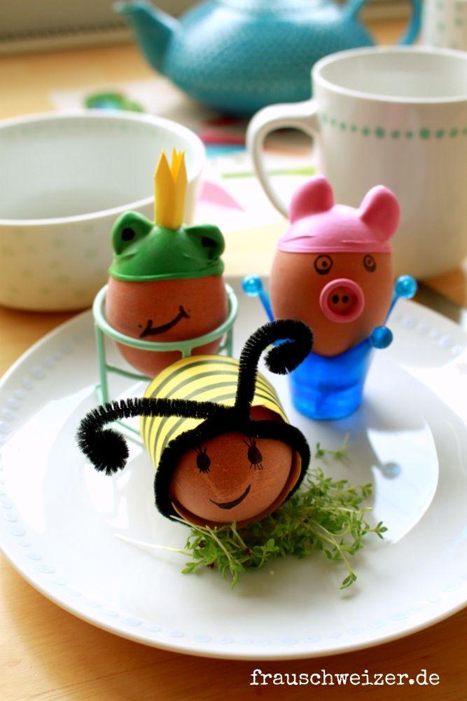 diy anleitung eier tiere nicht nur an ostern oder. Black Bedroom Furniture Sets. Home Design Ideas
