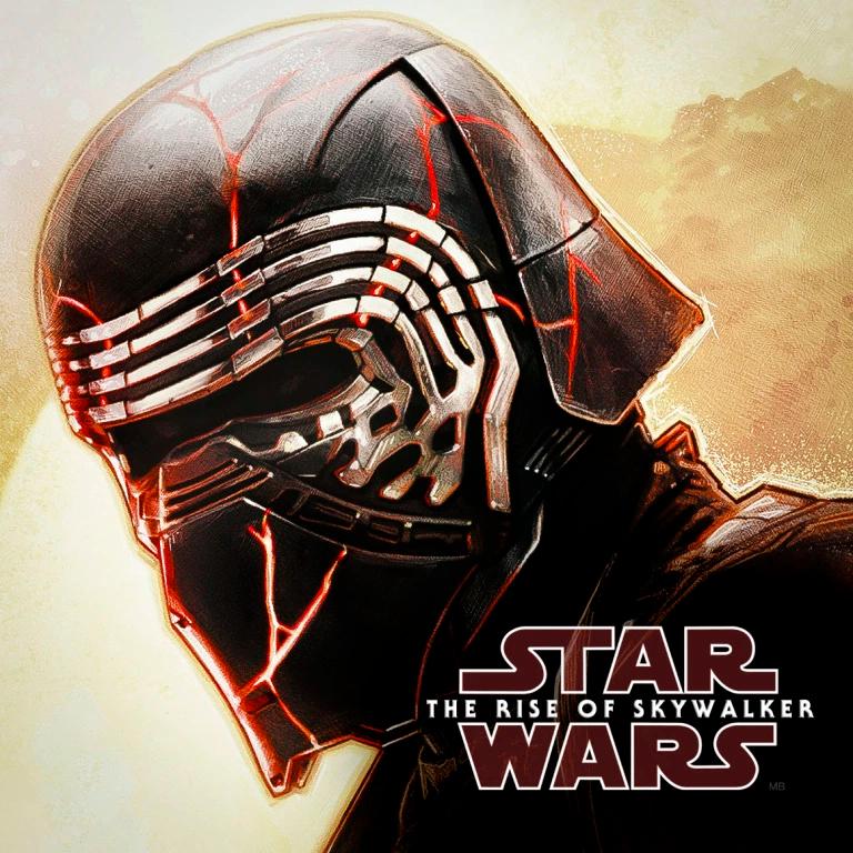 Star Wars The Rise Of Skywalker Kylo Ren Promo Art Milners Blog Star Wars Background Star Wars Pictures Star Wars Villains
